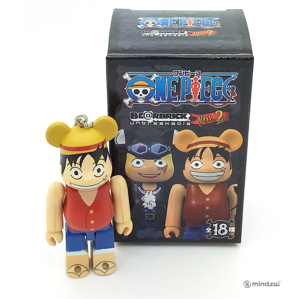 One Piece x Bearbrick Blind Box - Monkey D. Luffy 100% Size