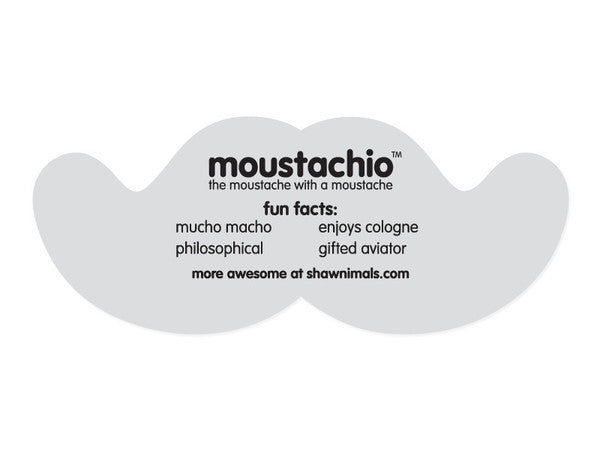 Moustachio Die-cut Sticker - Mindzai  - 1