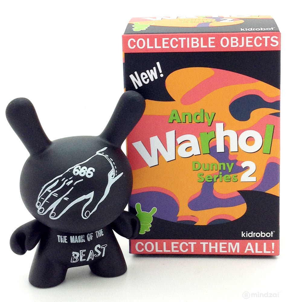 Andy Warhol Dunny Series 2.0 Blind Box - Mark of the Beast 666
