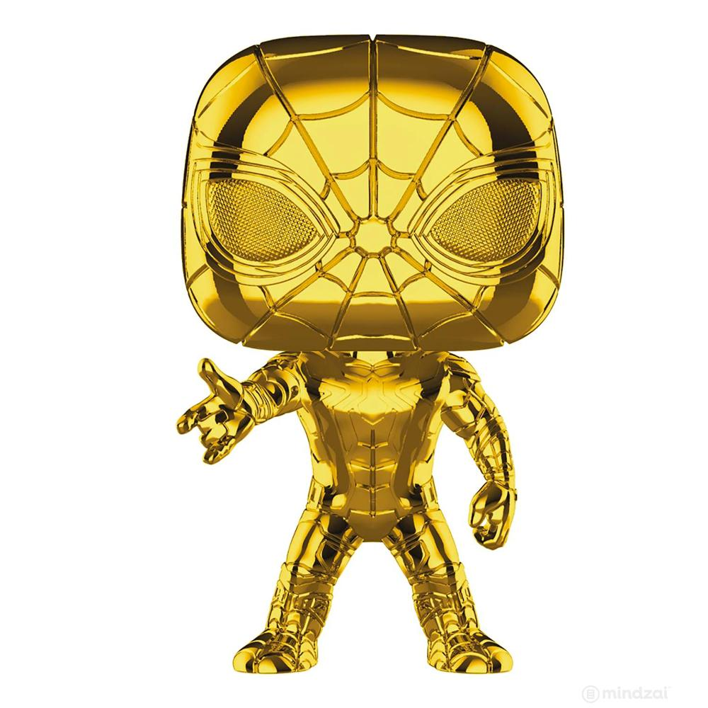 Marvel Studios: Iron Spider Gold Chrome POP! Vinyl Figure by Funko - Pre-order