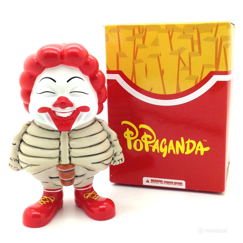 Popaganda by Ron English x Secret Base - Mc Supersized Bone Version Figure