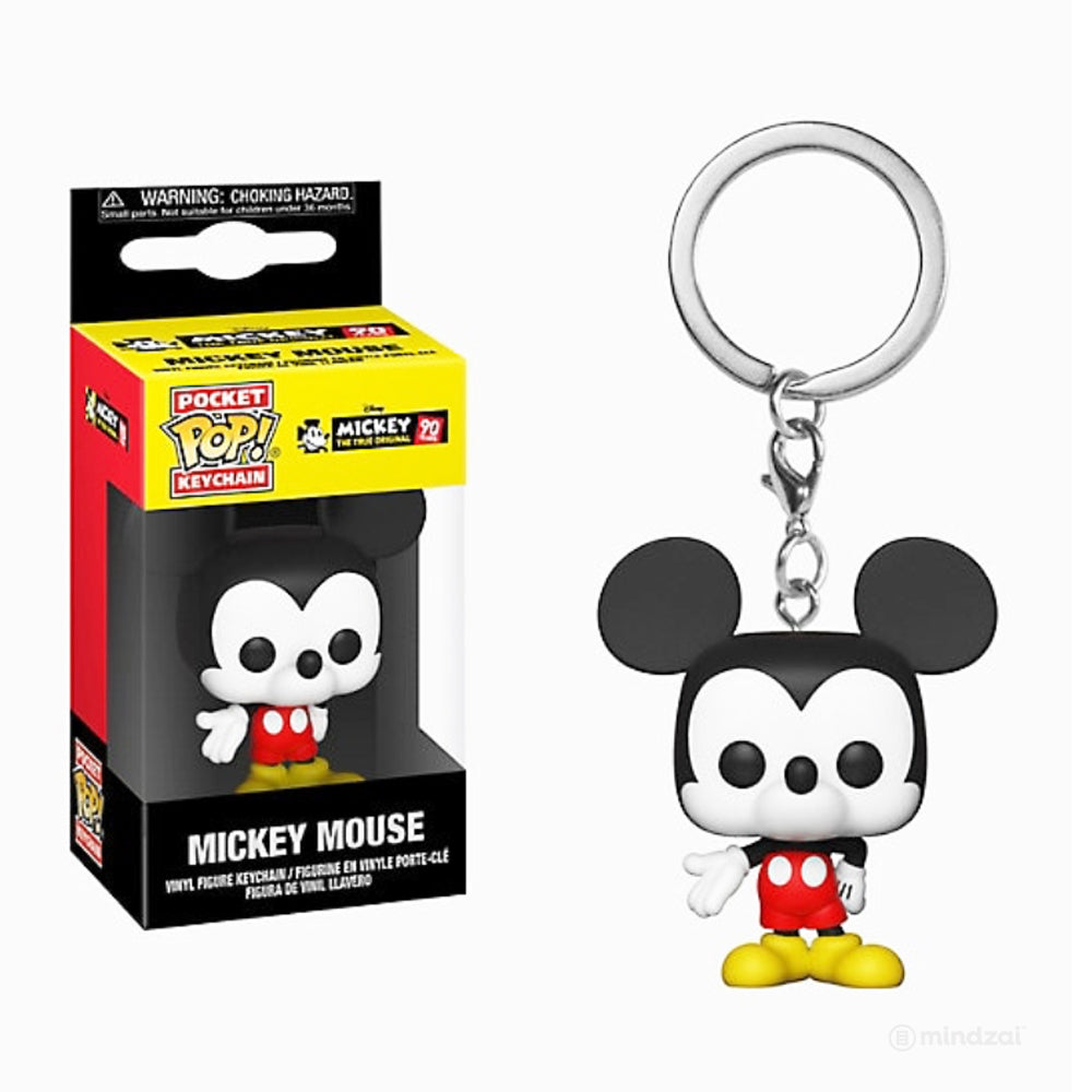 Mickey's 90th Anniversary Mickey Mouse Pocket Pop Keychain