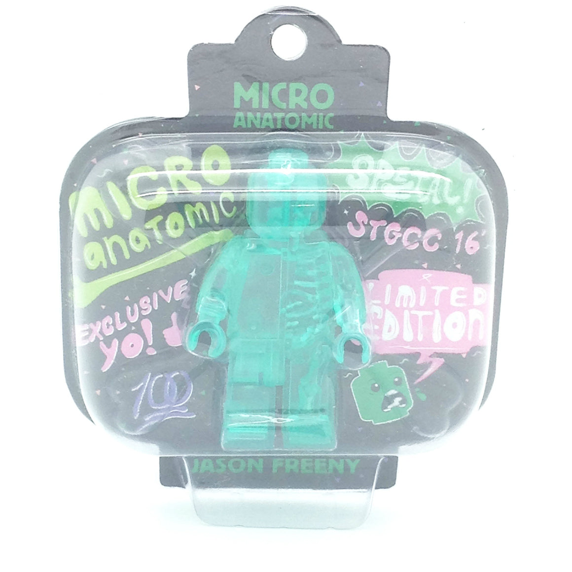 Micro Anatomic Green Figure by Jason Freeny STGCC 2106 Edition