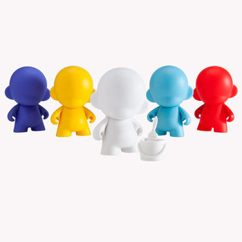 "Micro Munny 2.5"" Multicolor Edition by kid robot - Mindzai  - 1"