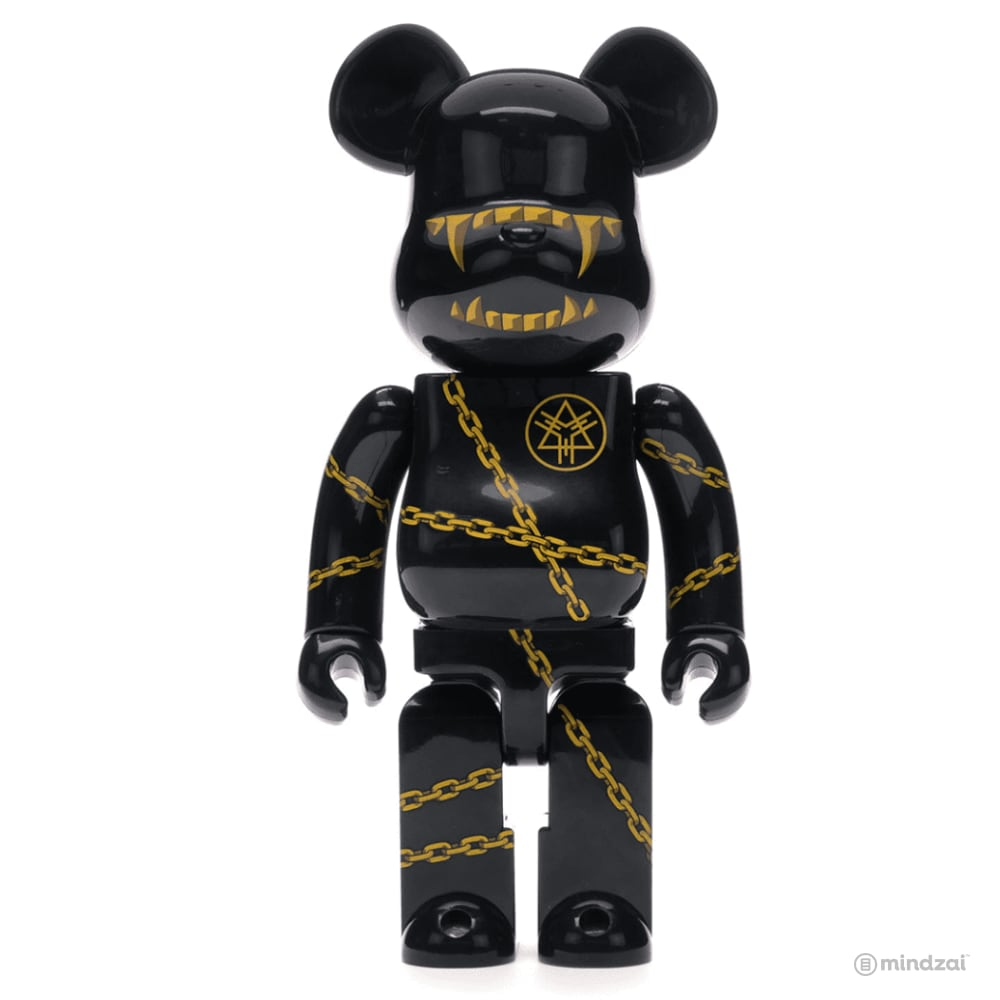 MISHKA x LONG 400% Bearbrick by Medicom Toy