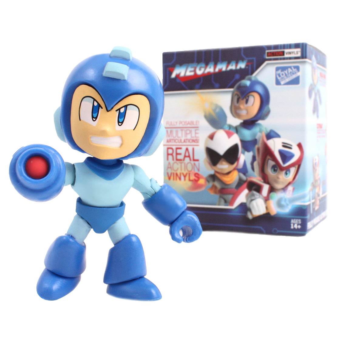 Mega Man Wave 1 Action Vinyls Blind Box Series by The Loyal Subjects