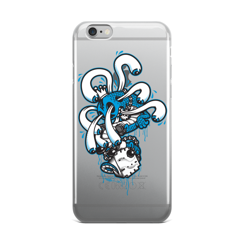 Creative King iPhone Case for 6, 6+ Case by Mad Toy Design x Mindzai