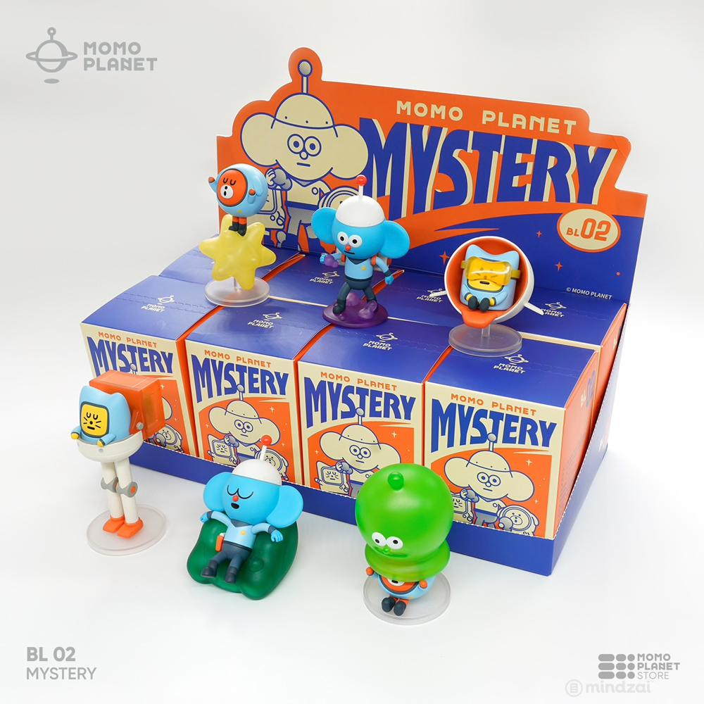*Pre-order* Momo Planet Mystery Blind Box Series by Moetch Toys