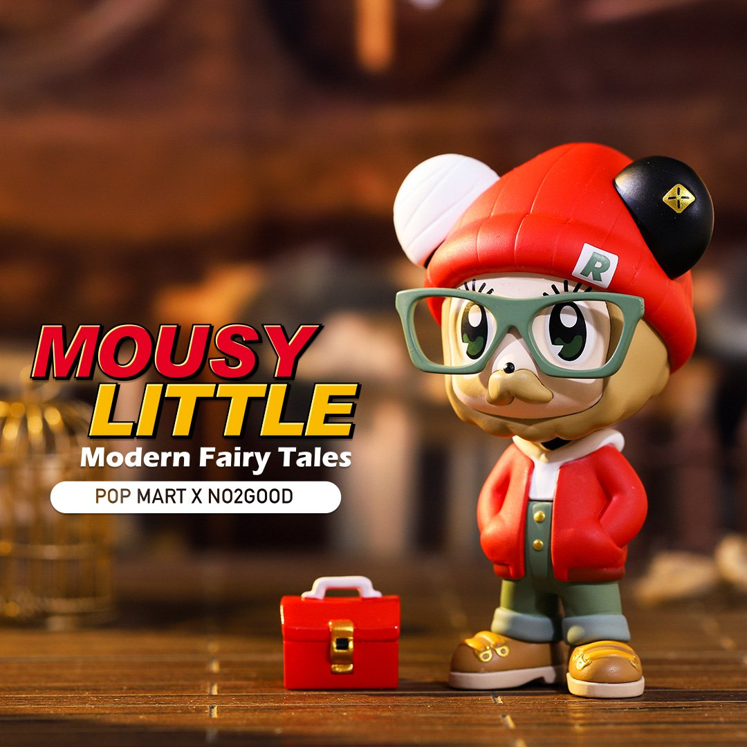 *Pre-order* Mousy Little Modern Fairy Tales by POP MART x No2Good