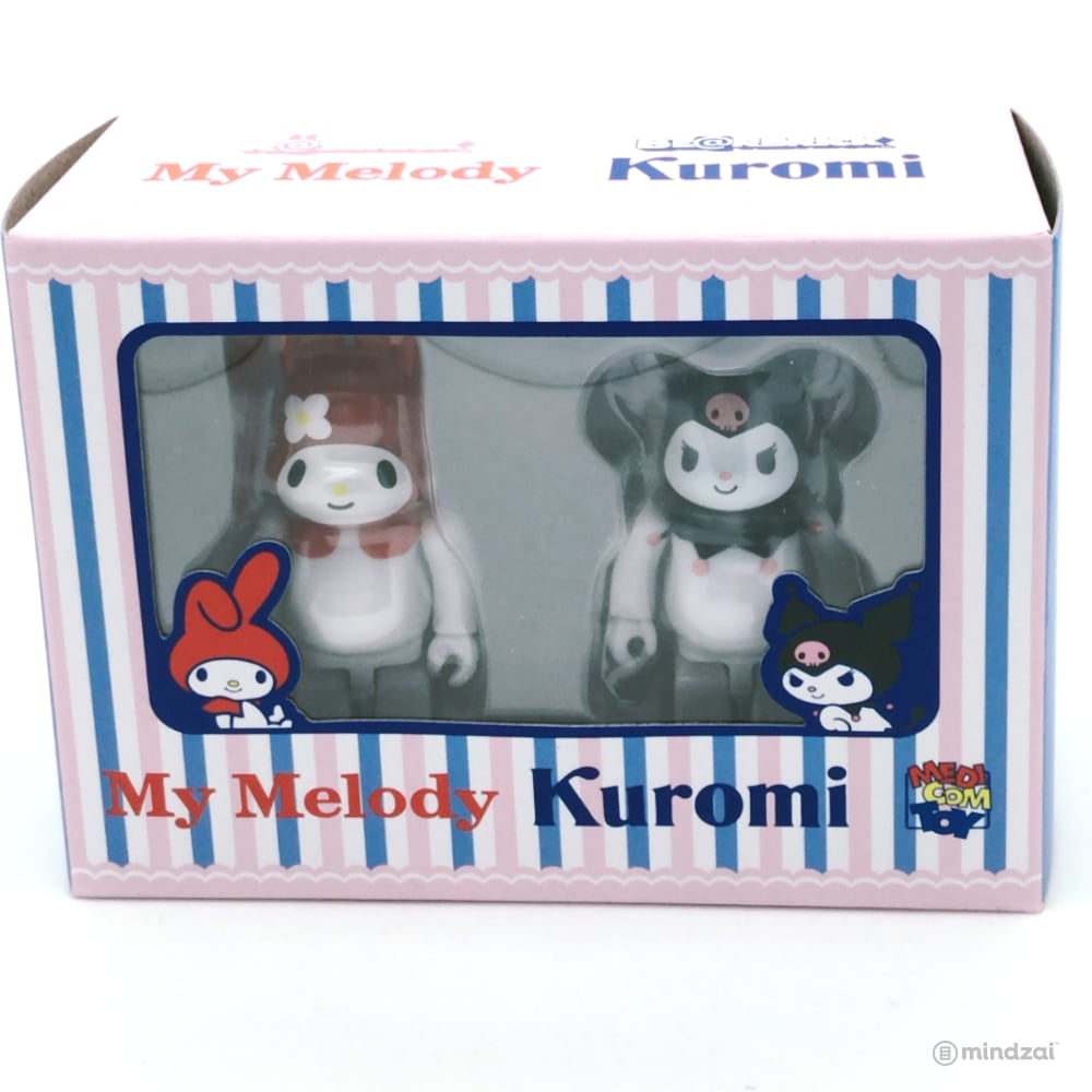 My Melody Rabbrick and Kurmoi Bearbrick 100% Figure 2-Pack by Medicom Toy