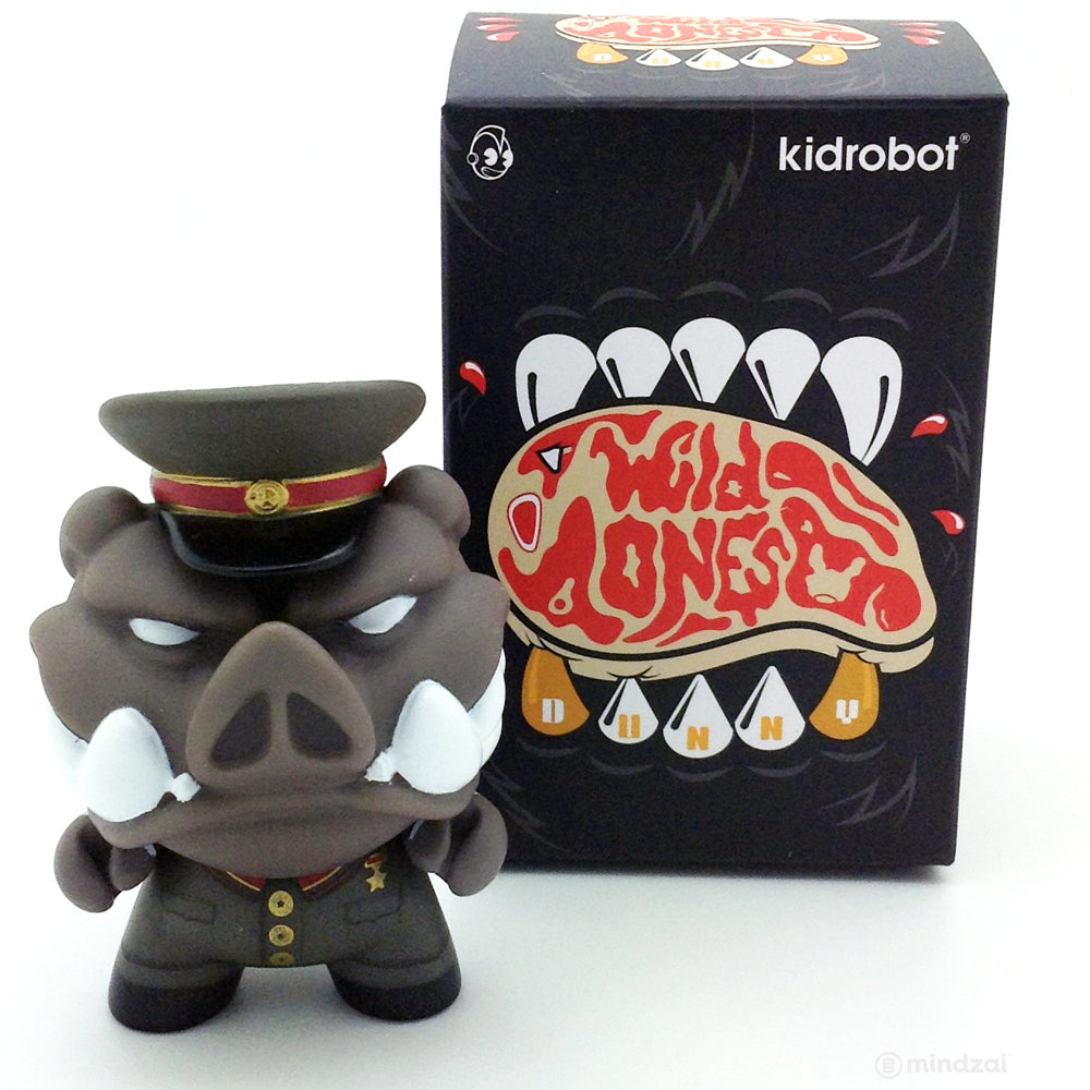 The Wild Ones Dunny Blind Box Mini Series - Napoleon (Chase)
