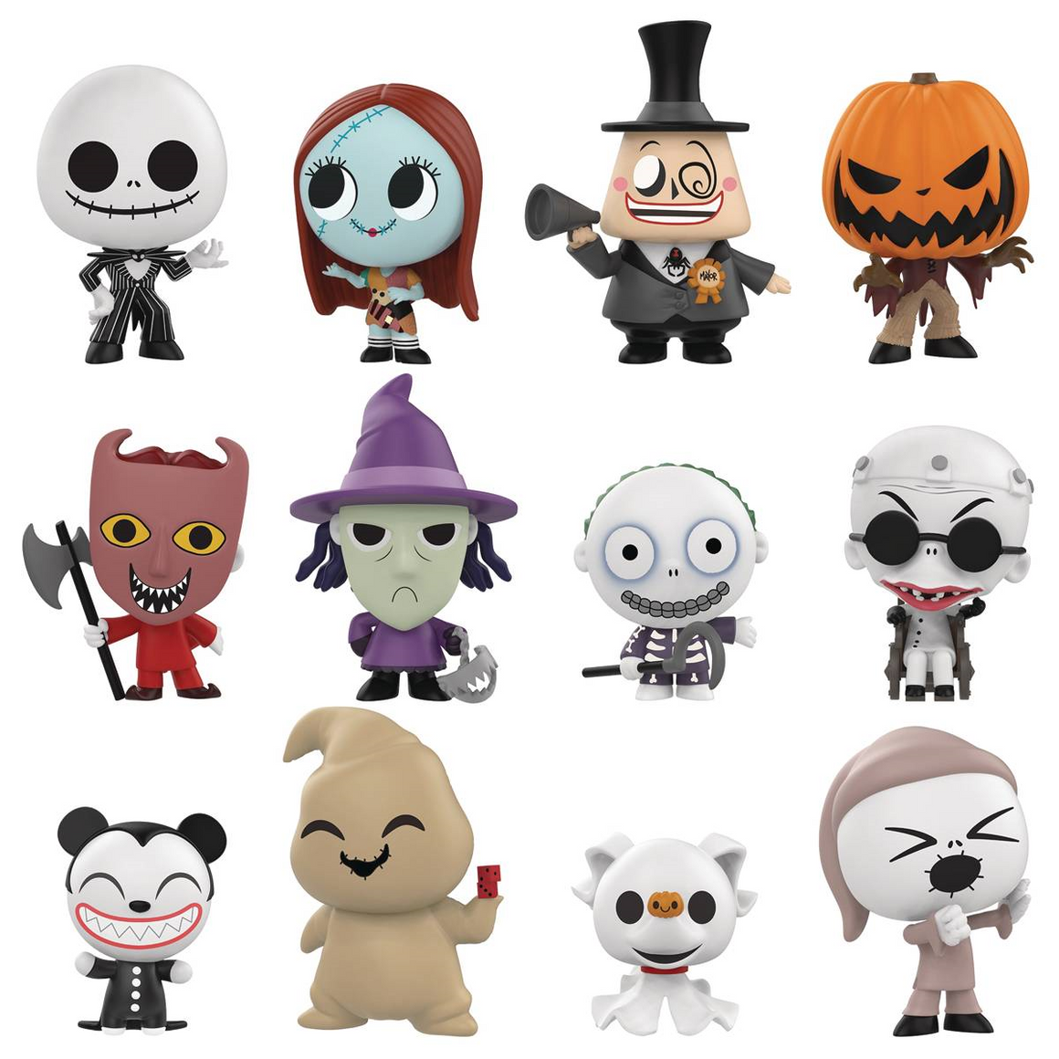 The Nightmare Before Christmas Disney Mystery Minis by Funko