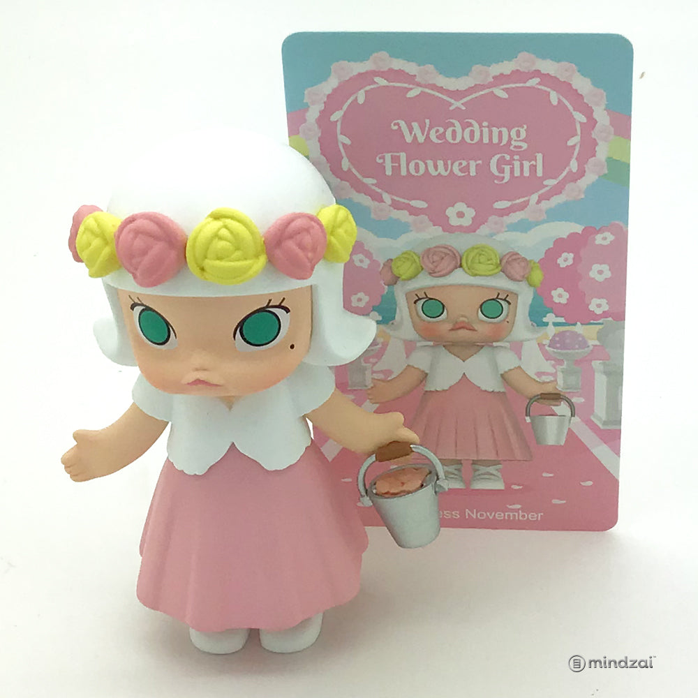 Molly Wedding Flower Girl Series by Kennyswork x POP MART - Princess November