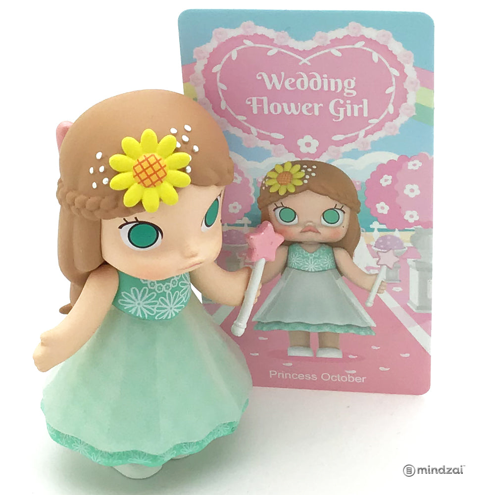 Molly Wedding Flower Girl Series by Kennyswork x POP MART - Princess October