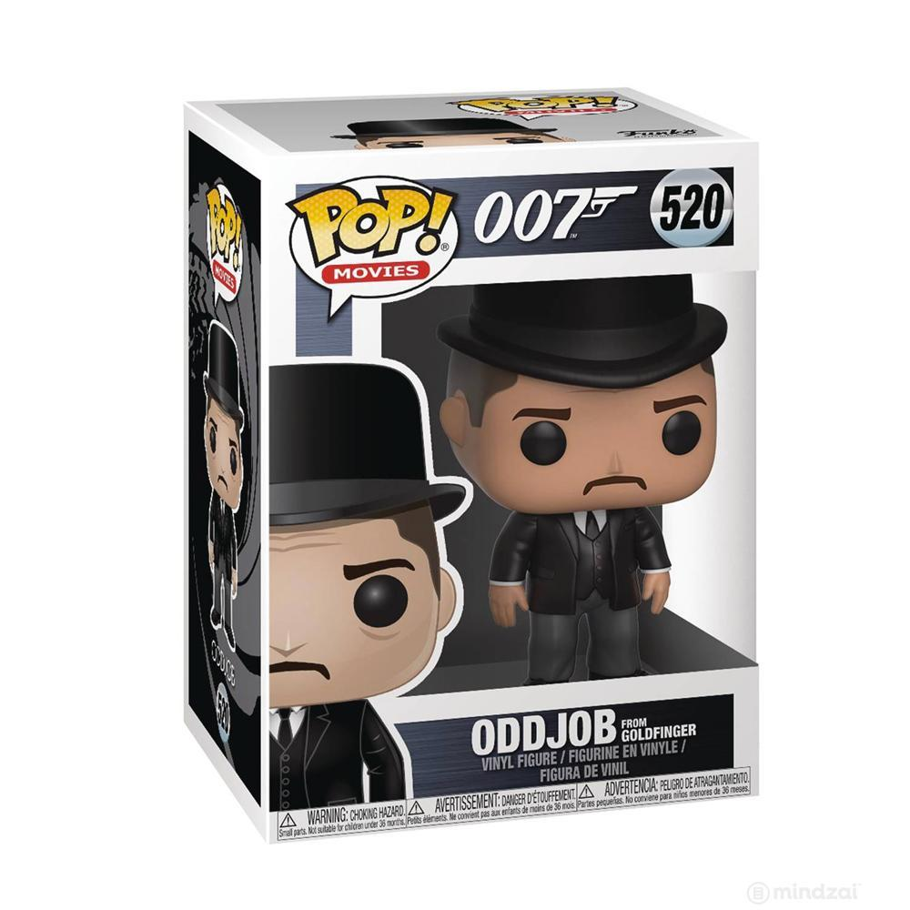 James Bond Oddjob Pop! Vinyl Figure by Funko