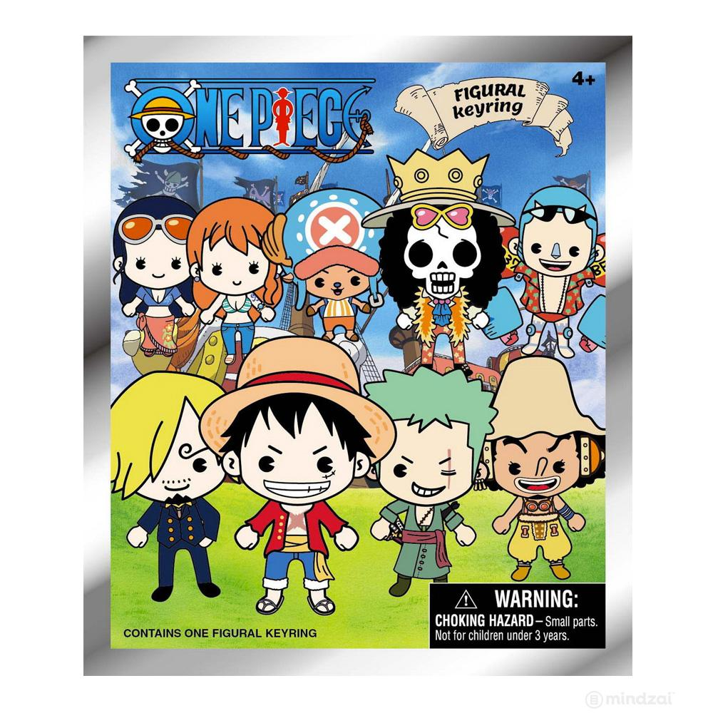 One Piece Figural Keyring Blind Bag