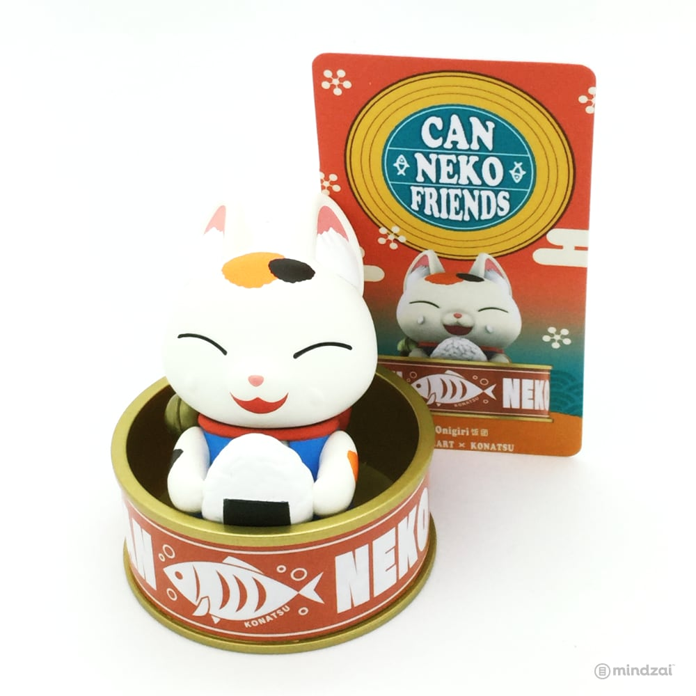 CanNeko Friends Blind Box Toy Series by Konatsu x POP MART - Onigri