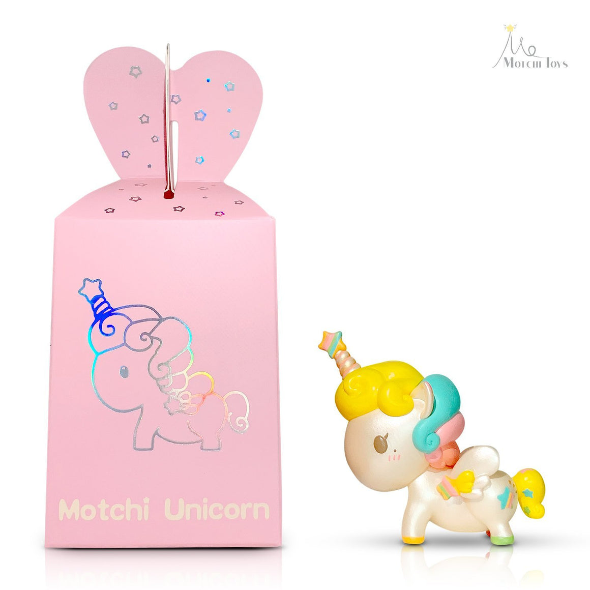 Motchi Unicorn by Motchi Toys (Hand Made and Hand Painted)
