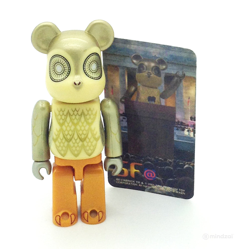 Bearbrick Series 8 - Owl the Professor Robot (SF)