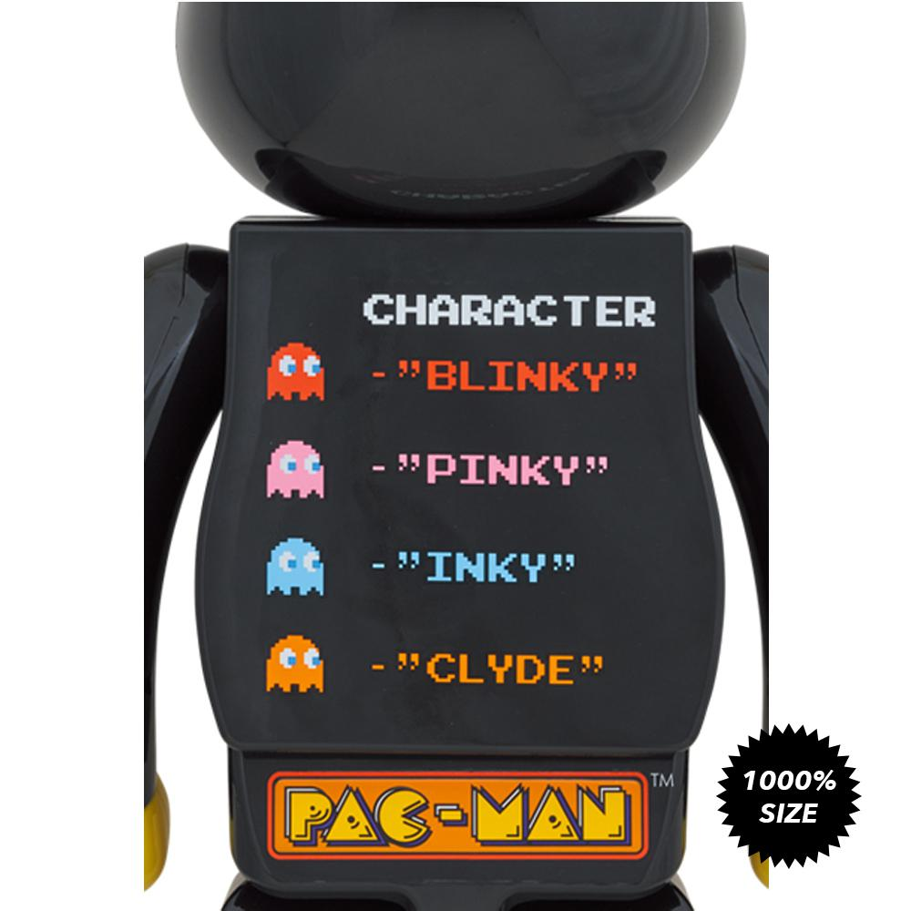 *Pre-order* Pac-Man 1000% Bearbrick by Medicom Toy