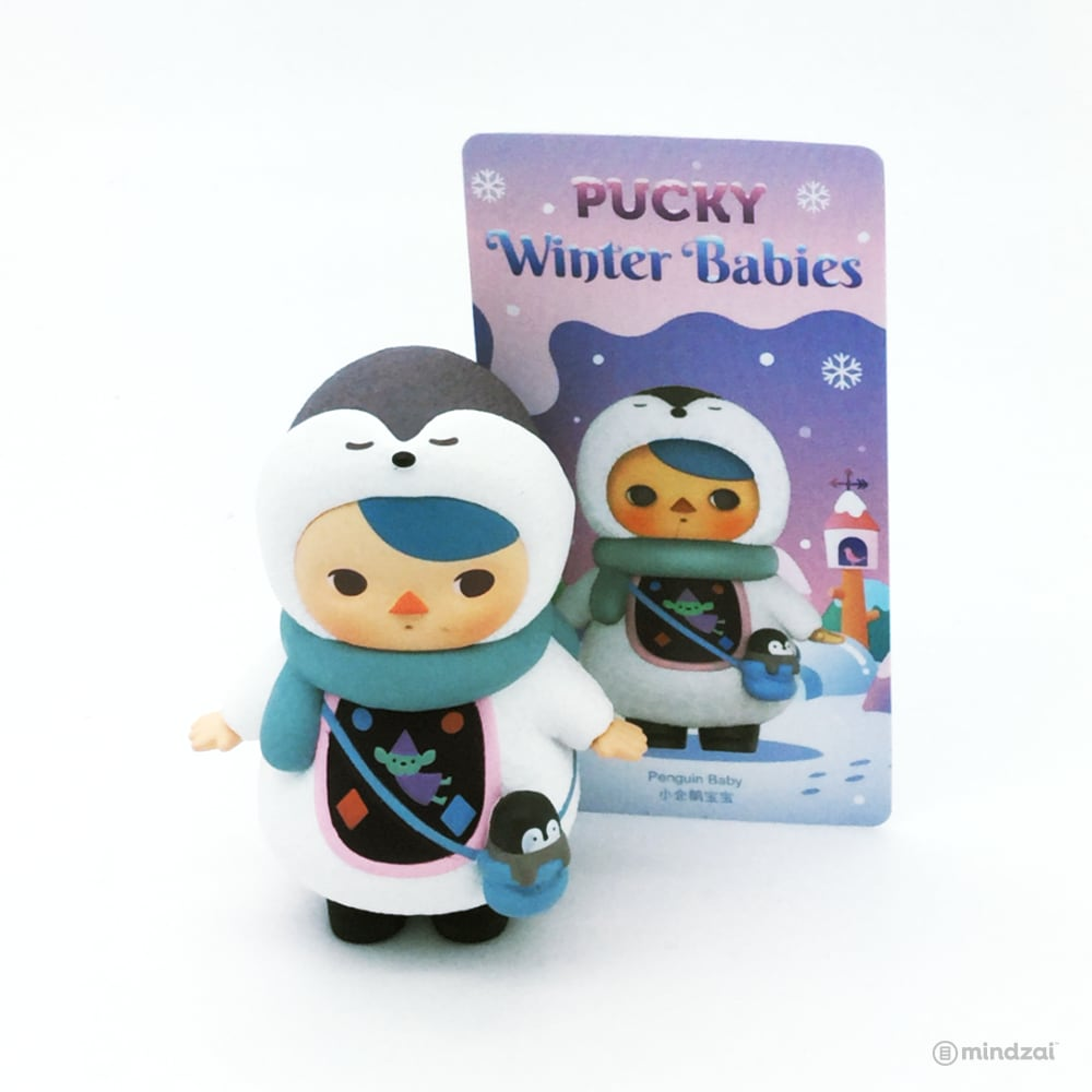 Pucky Winter Babies Blind Box Series by Pucky x POP MART - Penguin Baby