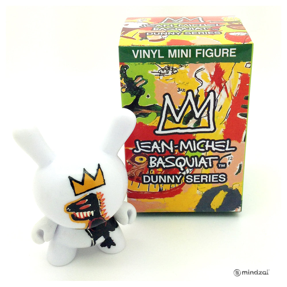 Jean Michel Basquiat Dunny Blind Box Minis Series - Pez Dispenser Dinosaur Dunny