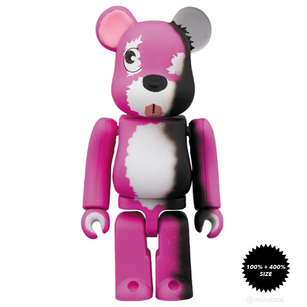 *Pre-order* Breaking Bad Pink Bear 100% + 400% Bearbrick Set by Medicom Toy