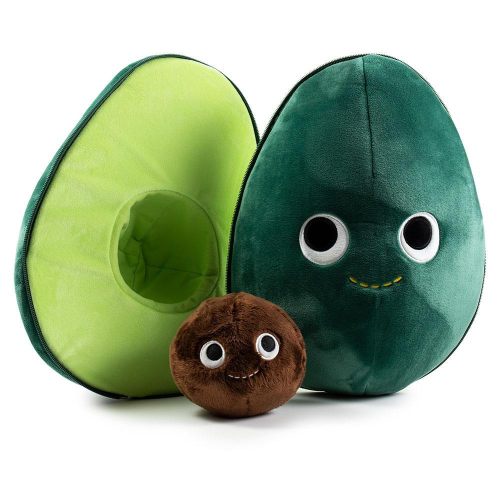 "Yummy World Eva the Avocado 16"" Inch Large Plush by Kidrobot - Special Order"