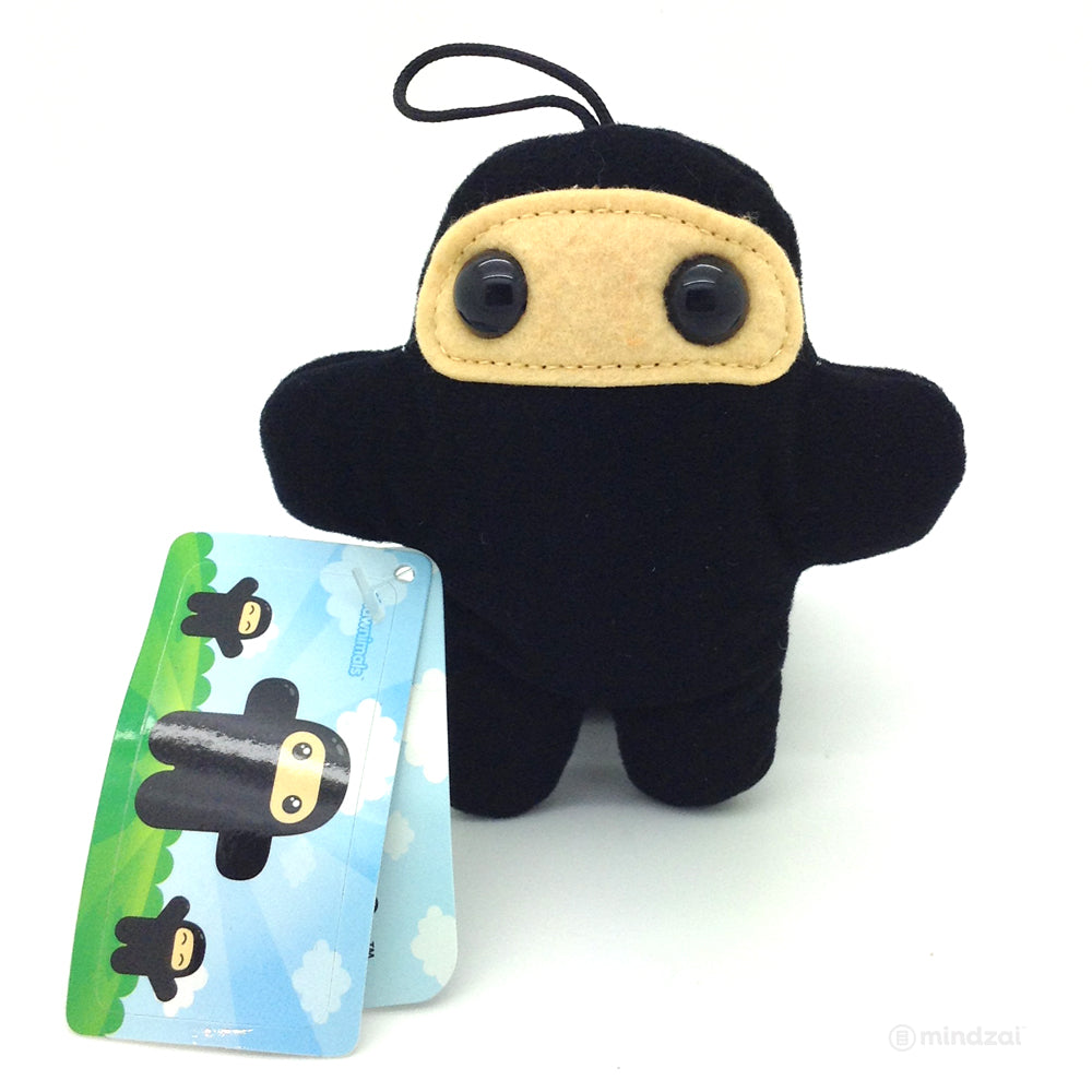 Shawnimals Pocket Wee Ninja Plush - Black