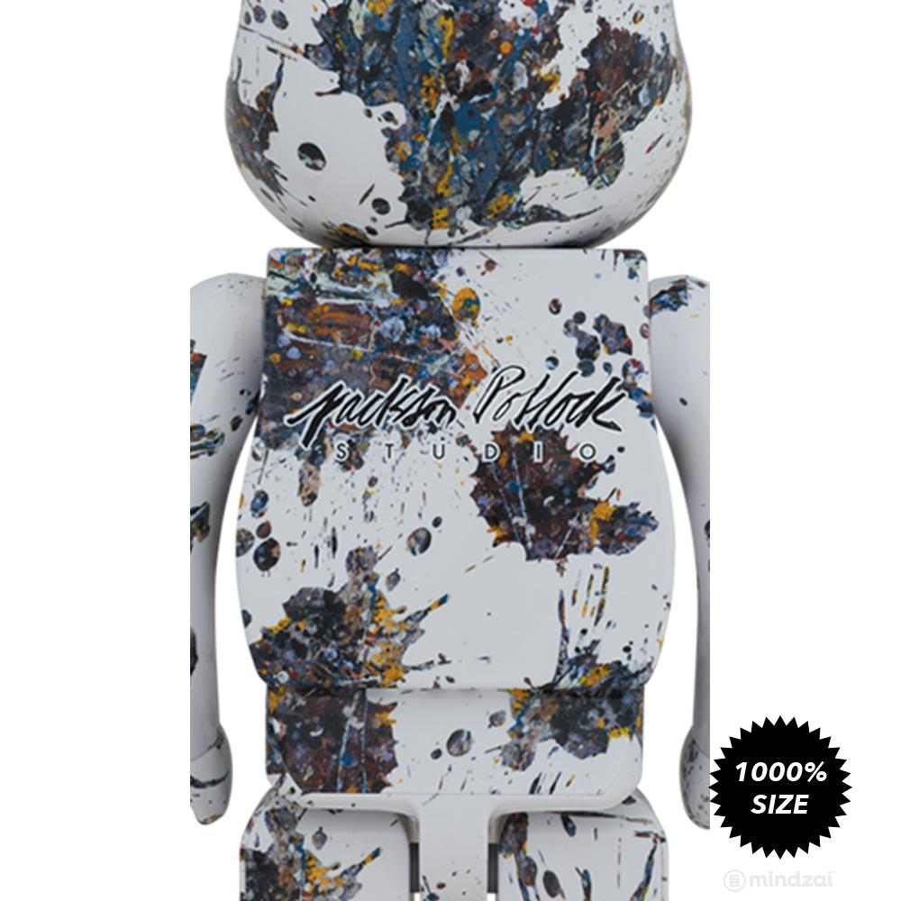 *Pre-order* Jackson Pollock Studio (SPLASH) 1000% Bearbrick by Medicom Toy