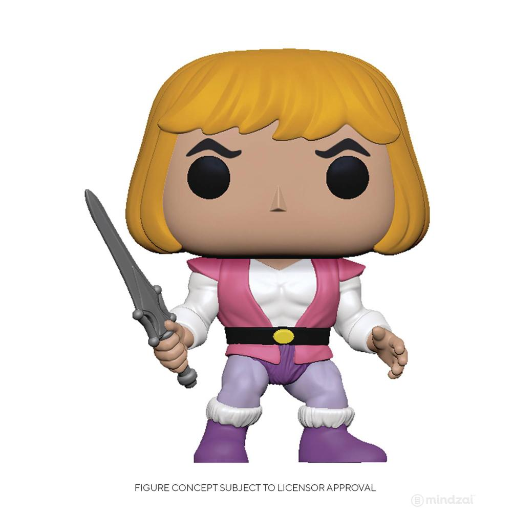 *Pre-order* Masters of the Universe Prince Adam POP Toy Figure by Funko
