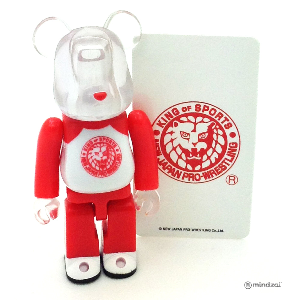 Bearbrick Series 37 - New Japan Pro-Wrestling (Artist) [Secret]