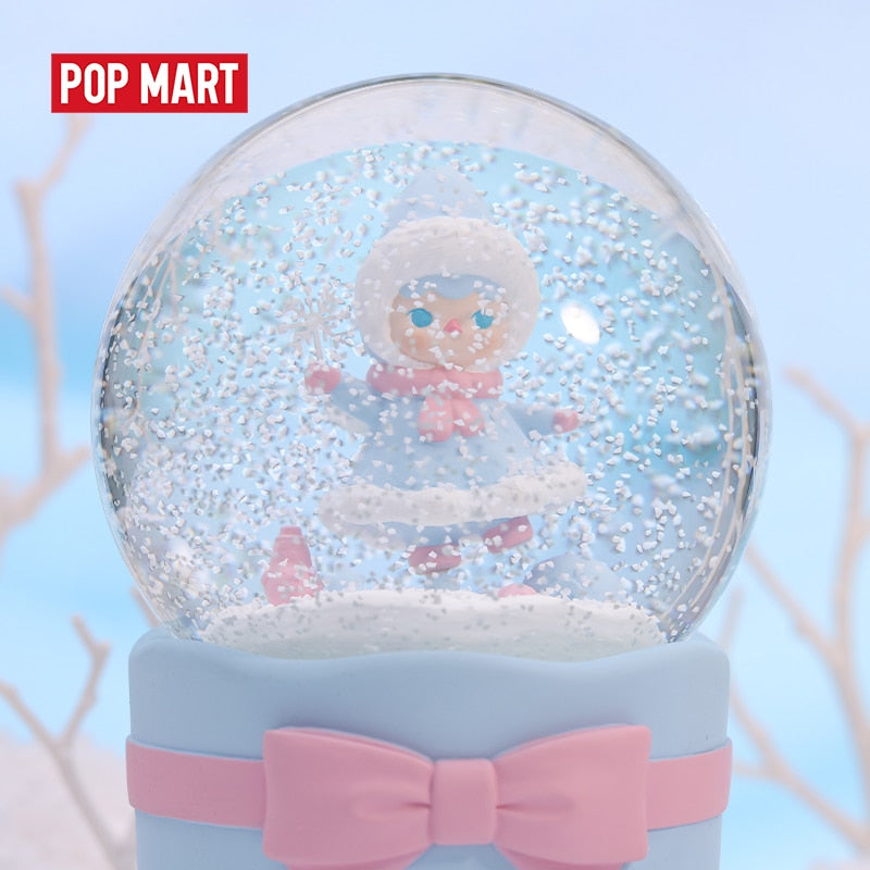 Pucky Snow Fairy Musical Crystal Ball by POP MART x PUCKY