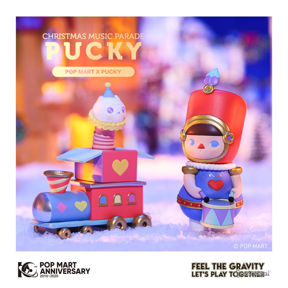 Pucky Christmas Music Parade Set by POP MART