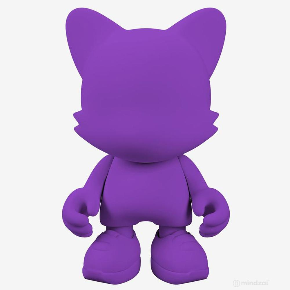 Purple 15-INCH UberJanky Toy by Superplastic