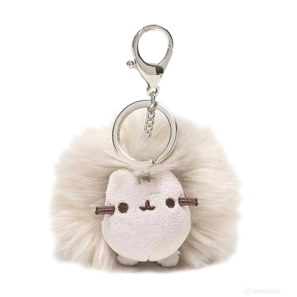 "Pusheen Grey Poof 4"" Keychain by GUND"