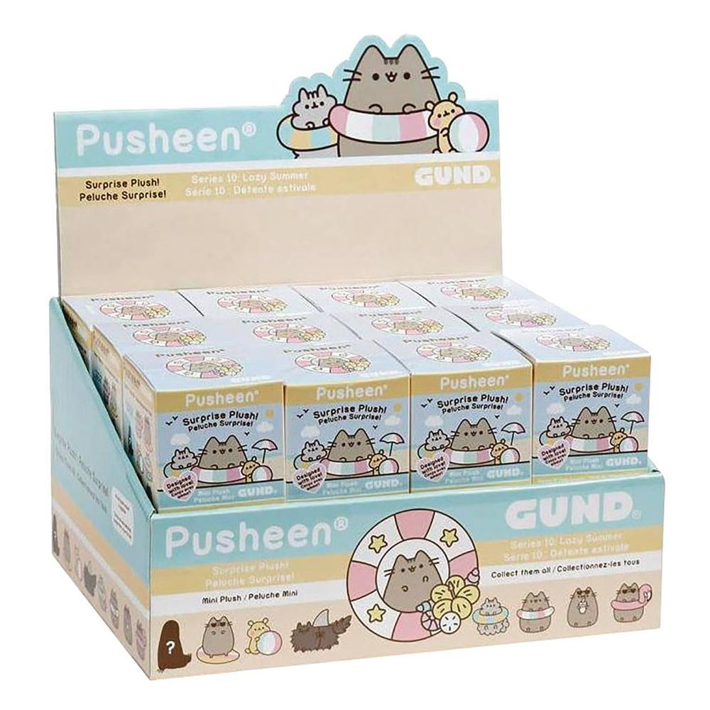 Pusheen Series 10: Lazy Summer Plush Blind Box by Gund