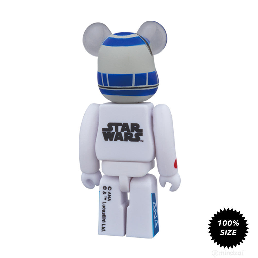 R2-D2 ANA Jet Bearbrick 100% by Medicom Toy x Star Wars x ANA