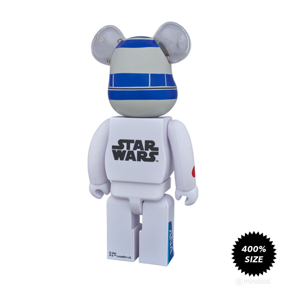 R2-DT ANA Jet Bearbrick 400% by Medicom Toy x Star Wars x ANA