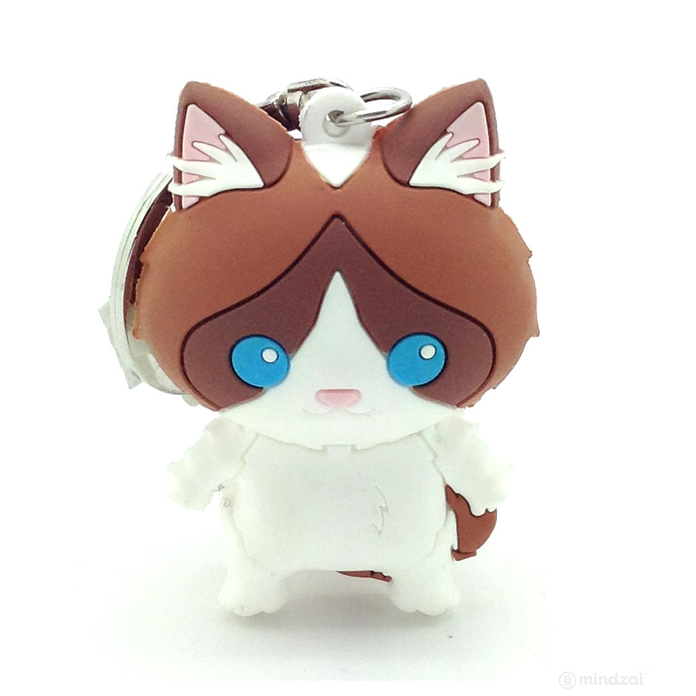 Purrfect Pets Cats Series 2 Figural Keychain - Ragdoll Cat