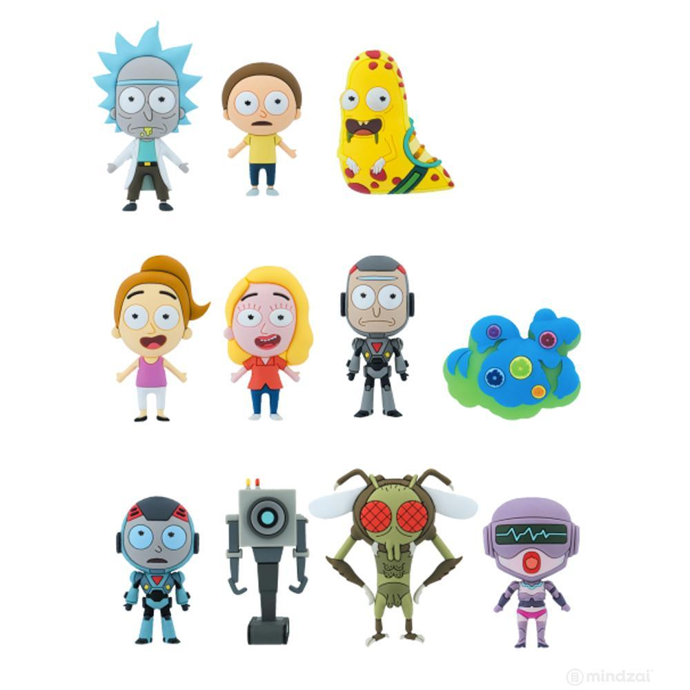 Rick and Morty Series 1 Figural Keyring Blind Bag