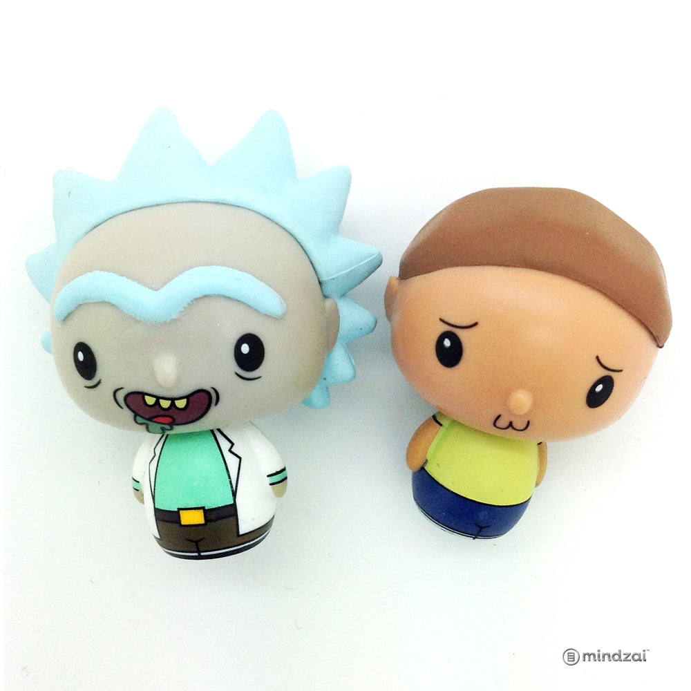Rick and Morty Pint Size Heroes Blind Bag - Rick and Morty (Set of 2)