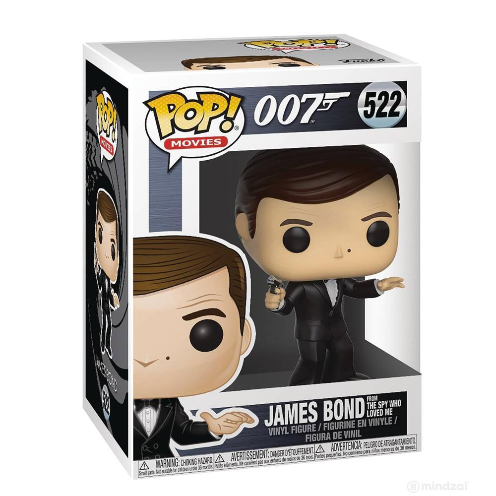 James Bond Roger Moore Pop! Vinyl Figure by Funko