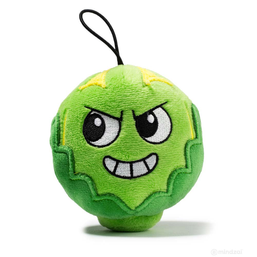 "Russell Sprout Yukky World 4"" Plush by Kidrobot"
