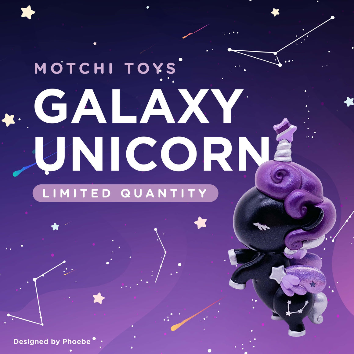 Galaxy Unicorn by Motchi Toys (Limited Edition)