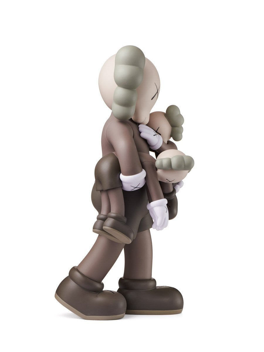 Kaws Clean Slate (Brown) Open Edition Art Toy Figure