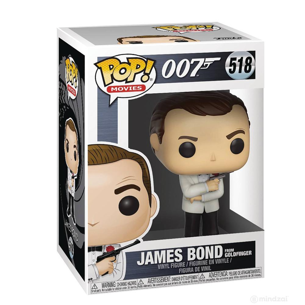 James Bond Sean Connery Pop! Vinyl Figure by Funko