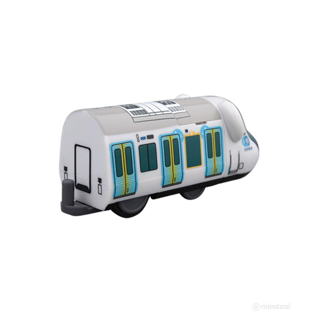 Seibu 40000 Series Bearbrick Train by Medicom Toy