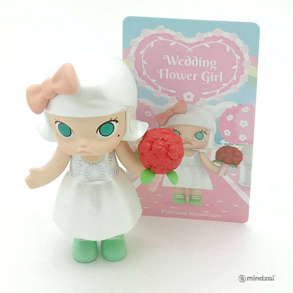 Molly Wedding Flower Girl Series by Kennyswork x POP MART - Princess September