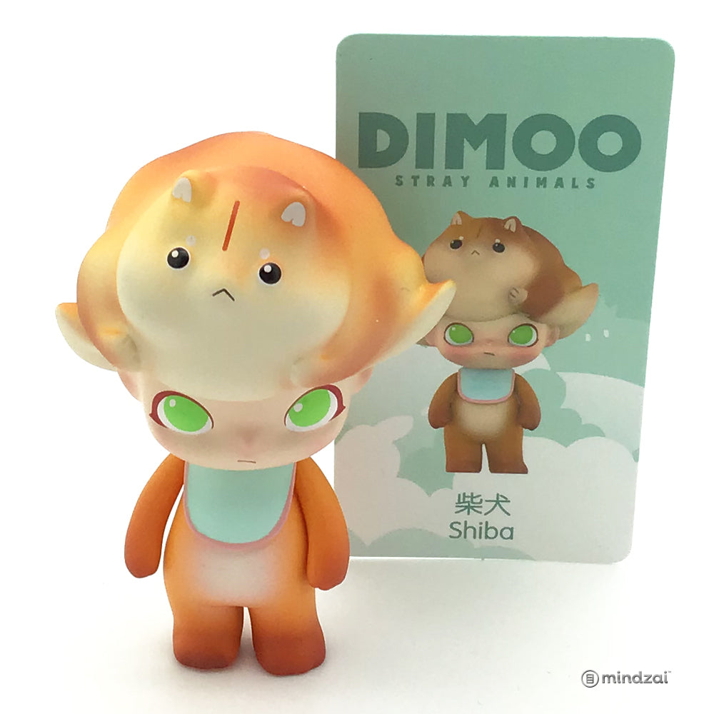 Dimoo Stray Animals Blind Box Series by Dimoo x POP MART - Shiba